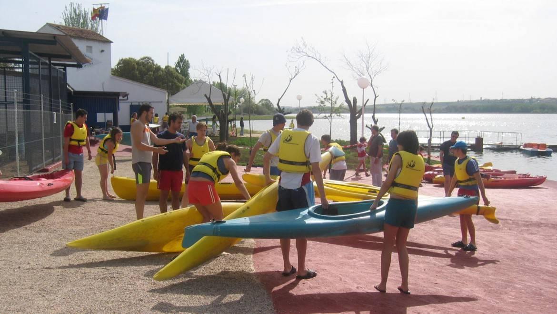 Actividades: Piragüismo con la Escuela del Deporte de la Junta de Comunidades