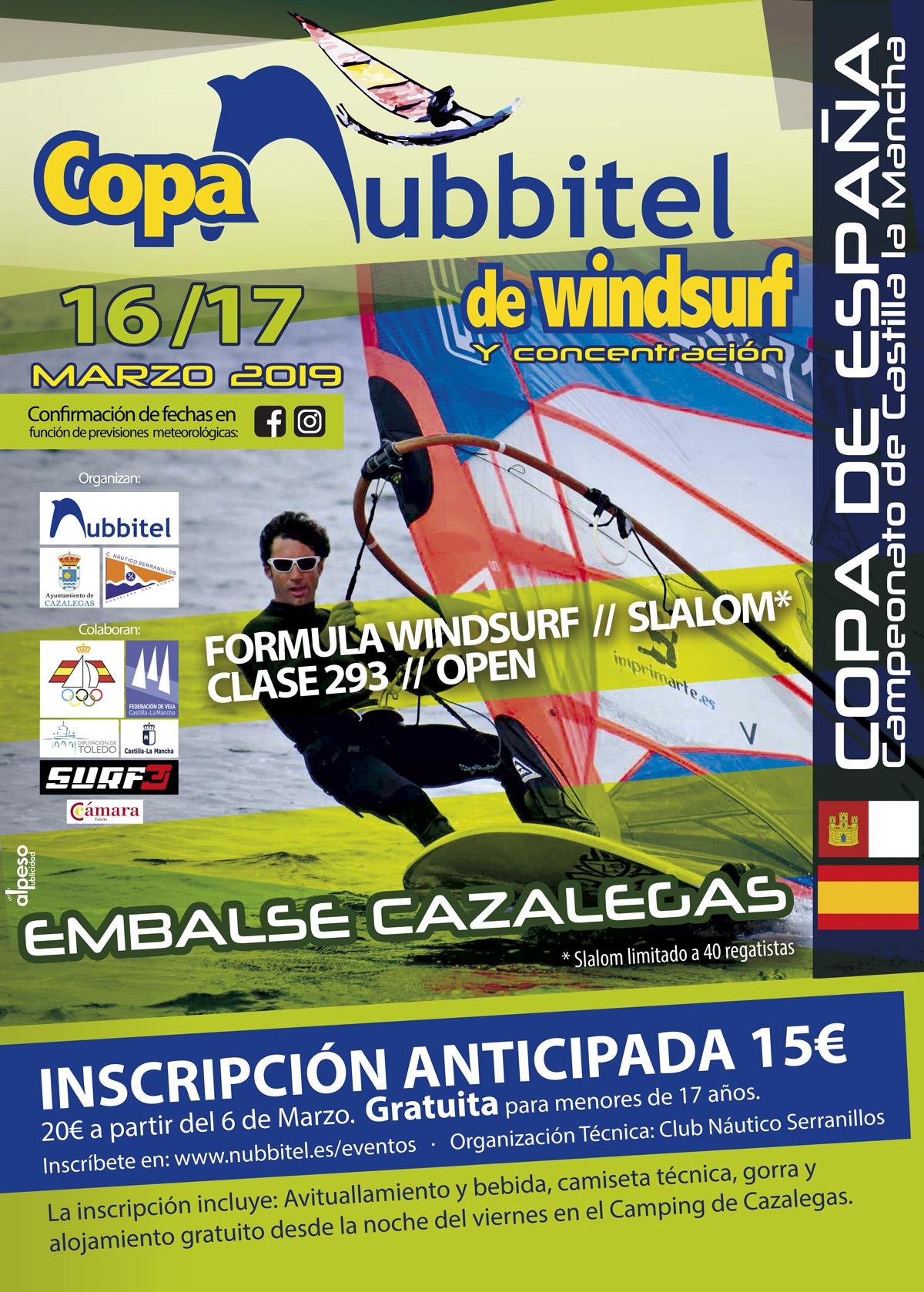 Campeonato de España de windsurf y funboard 2019 Náutico Serranillos